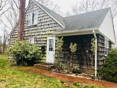 East Moriches Rental For Rent: 21 Mill Pond Ln #1