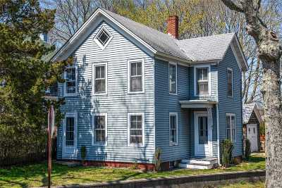 Sag Harbor Single Family Home For Sale: 207 Jermain Ave