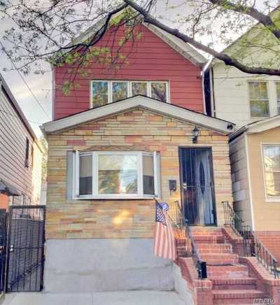 Woodhaven Single Family Home For Sale: 86-18 77 St