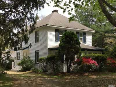 Remsenburg Single Family Home For Sale: 180 S Country Rd