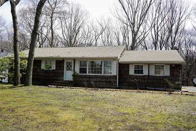 Setauket Single Family Home For Sale: 256 Sheep Pasture Rd