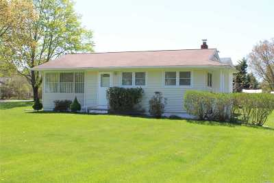 East Moriches Single Family Home For Sale: 88 Atlantic Ave