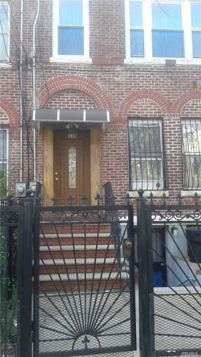 Brooklyn Single Family Home For Sale: 338 Van Siclen