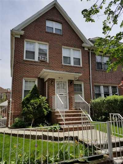 Jackson Heights Single Family Home For Sale: 34-11 91st