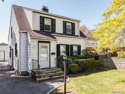 Hicksville Single Family Home For Sale: 127 10th St
