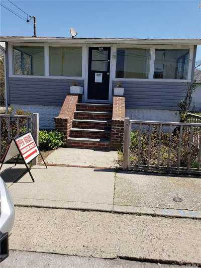 E Atlantic Beach NY Single Family Home For Sale: $499,000