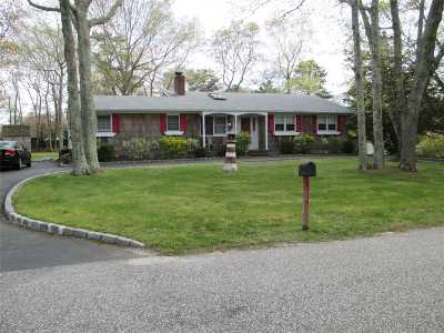 Hampton Bays Single Family Home For Sale: 45 Sherwood Rd