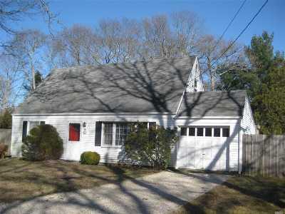 Westhampton Single Family Home For Sale: 44 Sea Gate Ave