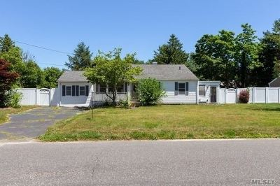 Sayville Single Family Home For Sale: 49 Lowell Rd