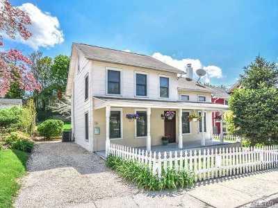 Port Washington Single Family Home For Sale: 34 2nd Ave