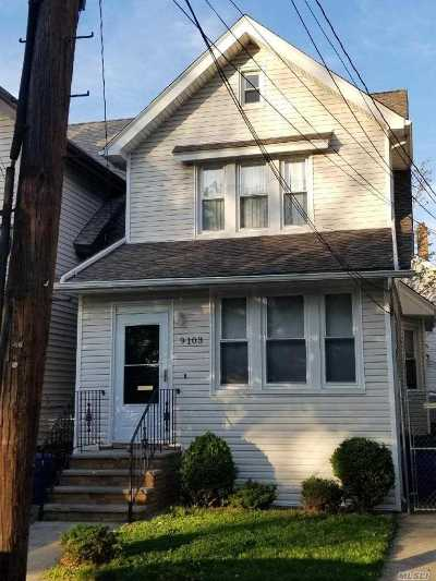 Woodhaven Multi Family Home For Sale: 91-03 96th St