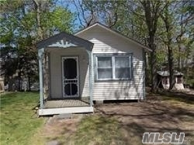 Wading River Single Family Home For Sale: 3010-59 Hulse Landing Rd