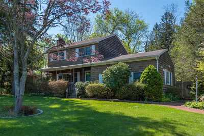 E. Setauket Single Family Home For Sale: 4 Caleb Brewster Rd
