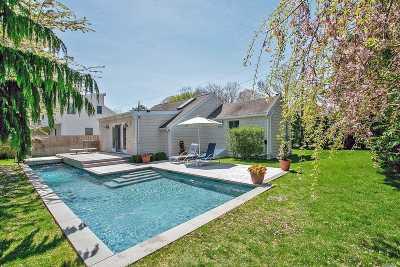Hampton Bays Single Family Home For Sale: 8 Elder Ave