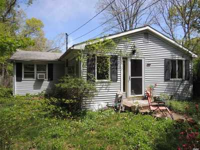 Mt. Sinai Single Family Home For Sale: 531a Canal Rd