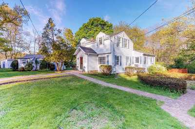 Smithtown Single Family Home For Sale: 161 Brooksite Dr
