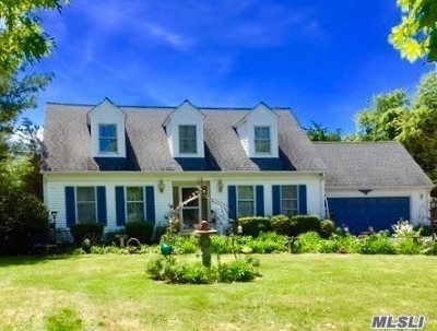 Aquebogue Single Family Home For Sale: 95 Tuthills Ln