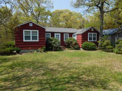 Mattituck Single Family Home For Sale: 2980 Sigsbee Rd