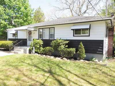 Coram Single Family Home For Sale: 17 Judith Dr