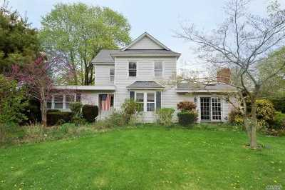 Cutchogue Single Family Home For Sale: 550 Depot Ln