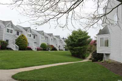 Coram Condo/Townhouse For Sale: 3511 Gibbs Rd #11