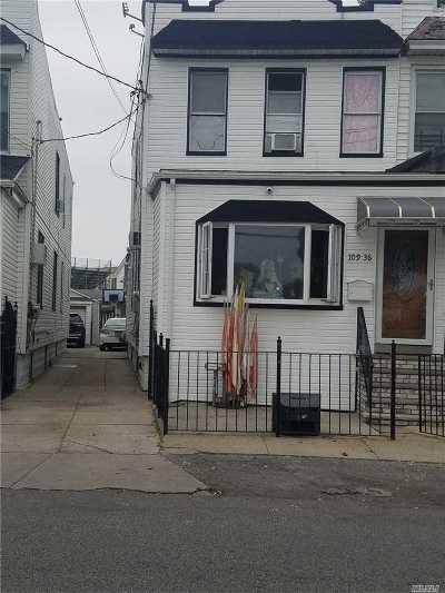 Ozone Park Multi Family Home For Sale: 109-36 Centreville St