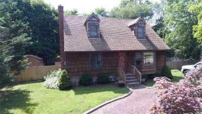 Wading River Single Family Home For Sale: 153 Cliff Rd W