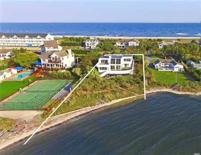 Westhampton Bch Single Family Home For Sale: 482 Dune Rd