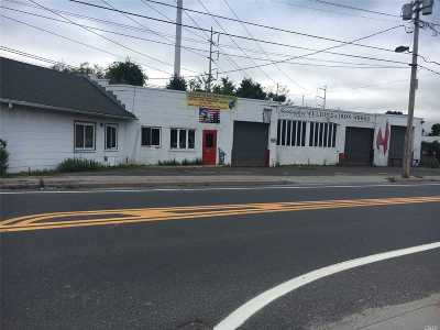 Suffolk County Commercial For Sale: 139 W. Pulaski Rd