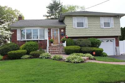 Hicksville Single Family Home For Sale: 27 Jefferson Ave