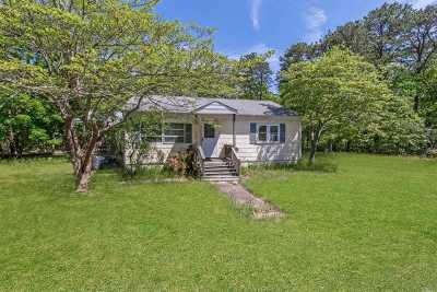 Hampton Bays Single Family Home For Sale: 7 Woodridge Rd
