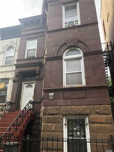 Brooklyn Multi Family Home For Sale: 723 Halsey St