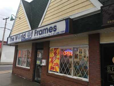 Suffolk County Commercial For Sale: 87 A & B Carleton Ave