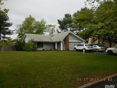 Coram Single Family Home For Sale: 3 Hirsch Ave