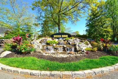 Syosset Condo/Townhouse For Sale: 159 Hidden Ridge Dr #159