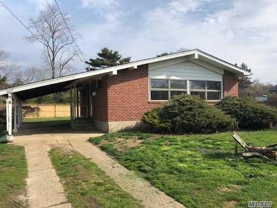 Oakdale Single Family Home For Sale: 221 Brook St
