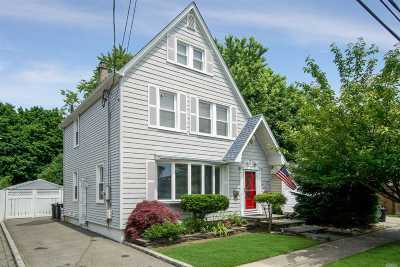 Williston Park Single Family Home For Sale: 89 Yale St