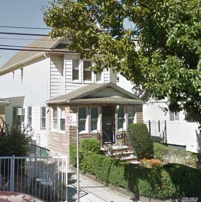 Rego Park Single Family Home For Sale: 86-27 Eliot Ave
