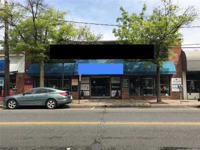Nassau County Commercial For Sale: 15 Main St