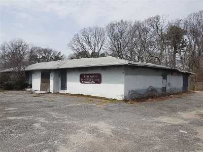 Coram Commercial For Sale: 71 Beach Ln