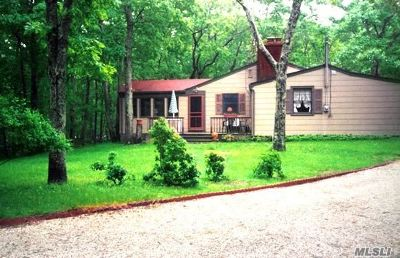 Suffolk County Rental For Rent: 1 Whippoorwill Ln