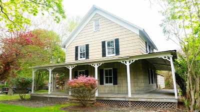 Center Moriches Single Family Home For Sale: 20 Wesley St