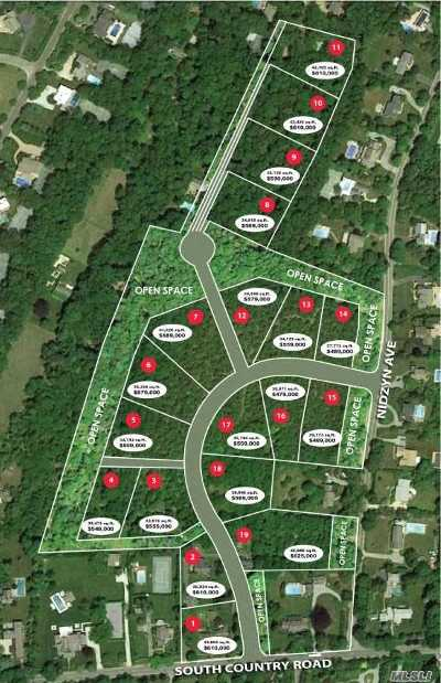 Remsenburg Residential Lots & Land For Sale: 116 #14 South Country Rd
