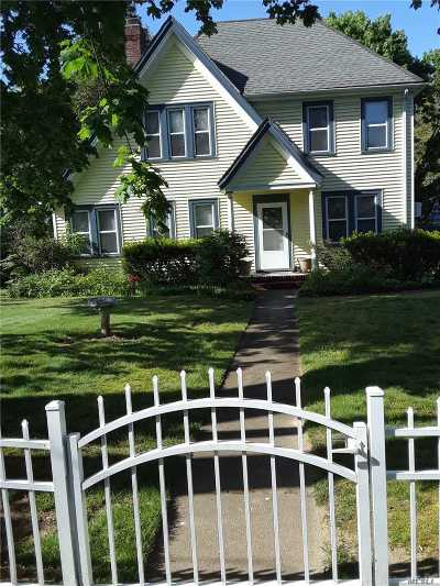 Port Jefferson Single Family Home For Sale: 133 N Country Rd