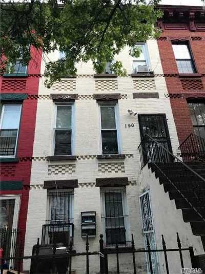 Brooklyn Single Family Home For Sale: 150 Mac Dougal St