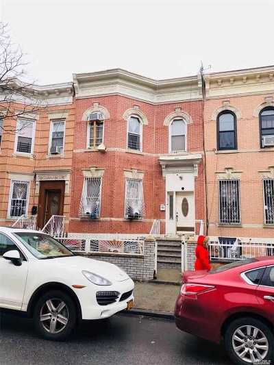 Brooklyn Multi Family Home For Sale: 402 Woodbine St