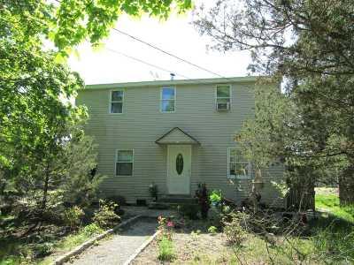 Center Moriches Single Family Home For Sale: 68 S Cozine Rd