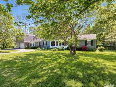 Mattituck Single Family Home For Sale: 1895 Marys Rd