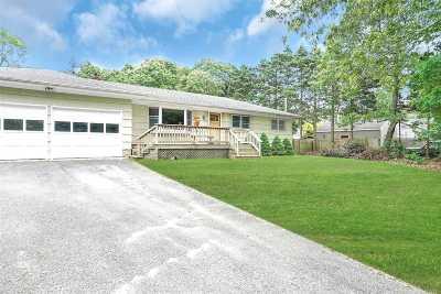 Hampton Bays Single Family Home For Sale: 48 Wakeman Rd