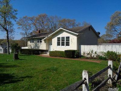 Hampton Bays Single Family Home For Sale: 5 William St